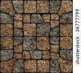 stone pattern texture... | Shutterstock . vector #36777799