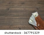 notepad with american dollar... | Shutterstock . vector #367791329