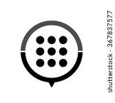menu   black vector icon  map...