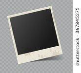 vector blank retro photo frame... | Shutterstock .eps vector #367845275