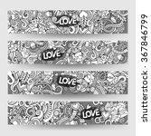 graphics line art vector hand... | Shutterstock .eps vector #367846799