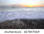 Sailboat Sunset Is A Sailboat...