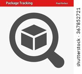 package tracking icon....   Shutterstock .eps vector #367852721