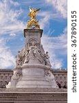 Queen Victoria Monument Statue...