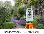 Land Surveyors Theodolite In A...