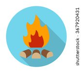 Bonfire Icon. Bonfire Icon...