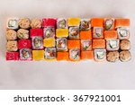 Sushi Set Of Different Rolls...
