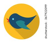 bird icon. | Shutterstock .eps vector #367922099