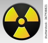 symbol of radioactive... | Shutterstock . vector #367938821