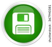 Floppy Disk Icon Green Glossy...