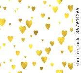 gold glittering foil seamless... | Shutterstock .eps vector #367944269