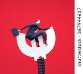 keeping the balance. business... | Shutterstock . vector #367944617