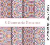 set of abstract geometric... | Shutterstock .eps vector #367971599