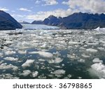global warming   icebergs from... | Shutterstock . vector #36798865