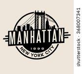 vintage t shirt sticker emblem... | Shutterstock .eps vector #368007341