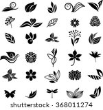 big natural collection | Shutterstock .eps vector #368011274