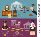 system of justice banner... | Shutterstock .eps vector #368026631