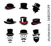 top hat pack   Shutterstock .eps vector #368029199