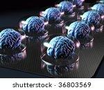 brain resources - stock photo