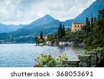 a picturesque view of lake como ...   Shutterstock . vector #368053691