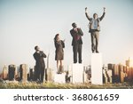 business team leader success... | Shutterstock . vector #368061659