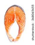 salmon fillet slices | Shutterstock . vector #368065655