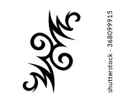 tribal tattoo vector design... | Shutterstock .eps vector #368099915