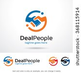 deal people logo template... | Shutterstock .eps vector #368115914