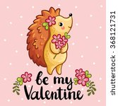 vector illustration with cute...   Shutterstock .eps vector #368121731