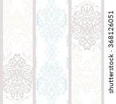 vintage damask floral ornament... | Shutterstock .eps vector #368126051