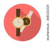 watches icon.   Shutterstock .eps vector #368132225