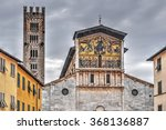 San Frediano Cathedral In Lucca ...