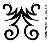 tattoo tribal vector design....   Shutterstock .eps vector #368139515