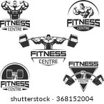 icons for bodybuilding and... | Shutterstock .eps vector #368152004