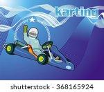 karting background | Shutterstock .eps vector #368165924