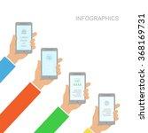 infographics design  with human ...
