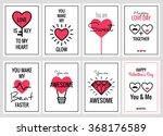 happy valentines day or wedding ...   Shutterstock .eps vector #368176589