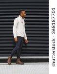 latin man posing outdoors | Shutterstock . vector #368187701