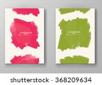 abstract artistic background... | Shutterstock .eps vector #368209634