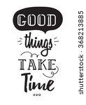 inspirational romantic quote.... | Shutterstock .eps vector #368213885