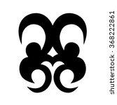 tribal tattoo vector design... | Shutterstock .eps vector #368222861