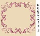 set decorative frames vector...   Shutterstock .eps vector #368233259