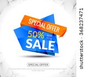 sale tags graphic elements in... | Shutterstock .eps vector #368237471