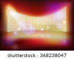 big led screen. vector... | Shutterstock .eps vector #368238047
