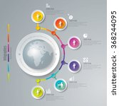 infographic design template can ...   Shutterstock .eps vector #368244095