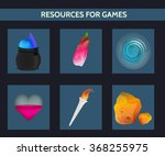 game resources. magic object.