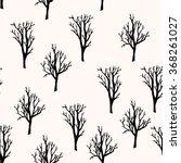 vector seamless pattern. forest ... | Shutterstock .eps vector #368261027