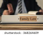 close up lawsuit folder of... | Shutterstock . vector #368264609