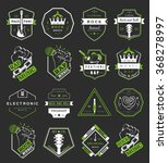 set of vector badges and logos...   Shutterstock .eps vector #368278997