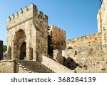 the tower of david  in... | Shutterstock . vector #368284139